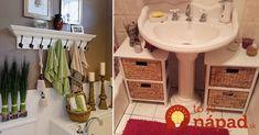 Mnohé rodiny bojujú s malým priestorom v kúpeľni. Kam uložiť všetky šampóny, krémy, uteráky a ďalšie veci, ktoré denne využívame?