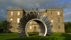 I officially want a sound garden and I want this in it.  Aeolus Is A Sound Sculpture Powered By Wind   The Creators Project