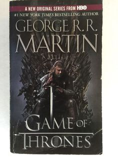 A Game Of Thrones Book One Paperback 1 In Series A Song of Fire and Ice G Martin