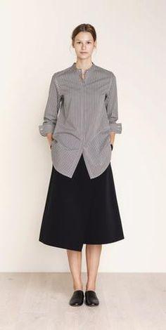 MARIMEKKO STIINA COTTON TUNIC  #stripes #scandinavian #pirkkoseattle #pirkkofinland #blackandwhite #blouse #tunic #dress #preppy