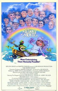 See also Muppet Show Guest Stars 15 Guest Stars The Muppet Movie The Muppet Movie, Movie Tv, 1970s Movies, Hollywood Forever Cemetery, Studios, Best Movie Posters, Film Posters, Be With You Movie, Fraggle Rock