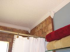 """Peelnstick Crown Molding """"could This Complete The Bathroom Fair Bathroom Crown Molding Decorating Design"""