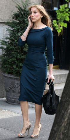 Sarah Jessica Parker In L'Wren Scott.