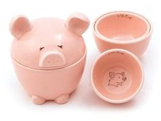 This Lil' Piggy Measuring Cups (5-pc.) by Del Rey at Food Network Store