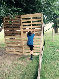 Pallet obstacle course