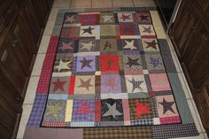 Jan's Texas Star quilt