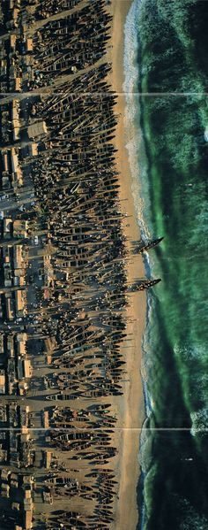 Mauritania (National Geographic '98, photograph by George Steinmetz).