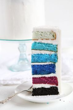 "Disney's ""Frozen"" Inspired Layer Cake!"