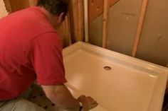 with Plumbing and heating contractor Richard Trethewey | thisoldhouse.com | from How to Replace a Shower Pan