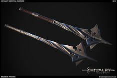 ArtStation - Chivalry: Medieval Warfare Weapons, Brandon Phoenix