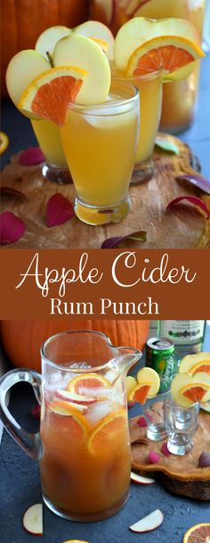 Apple Cider Rum Punch is the perfect easy cocktail with fresh apple cider, rum, honeycrisp apples, oranges and Sprite ready in just a few minutes! Informations About Apple Cider Rum Punch PinYou can eas Apple Cider Cocktail, Apple Cider Sangria, Cider Cocktails, Easy Cocktails, Apple Cider Alcoholic Drinks, Vodka Sangria, Alcoholic Beverages, Cranberry Juice, Summer Cocktails