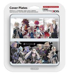AUTHENTIC Fire Emblem Fates if 3DS Acrylic Strap Keychain Japan Kaze NEW