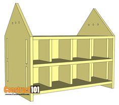 Purple Martin Bird House Plans - 16 Unit - Cut three pieces of plywood to 26 x 17