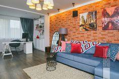 Квартира в Красногорске 140 кв.м • микрорайон Павшинская пойма • гостиная