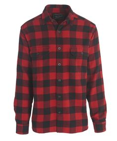 Men s Oxbow Bend Plaid Flannel Shirt - 100% Cotton a26cf657c517