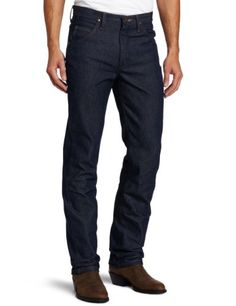 2c6ca611d6 Wrangler Men's Premium Performance Cowboy Cut Slim Fit Jean, Rigid, 27x32  at Amazon Men's Clothing store: