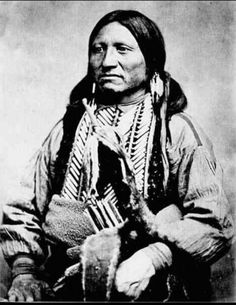 Kicking bird,Kiowa chief.