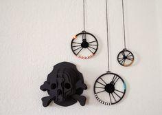 Circle Weave Halloween Spiders