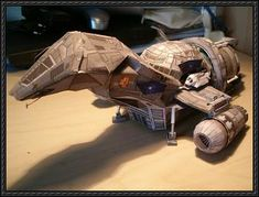 Firefly - Firefly-class Transport Spaceship Serenity Ver.2 Free Paper Model Download
