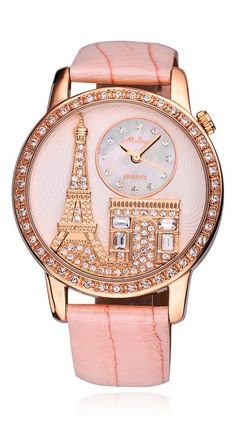 Paris watch .. Wouldn't expect to like this so much! @Kathleen S S S S Brazier this looks like you!