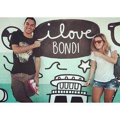 I love Bondi! #bondi #bondibeach #bondibeachsydney #sydney #australia #aussie #aussiesofinstagram #overthemoon  #fanphoto #regram from @myriamlobe  Art by @rosieapps by bondibeachgraffitiwall http://ift.tt/1KBxVYg