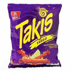 Takis® Fuego Hot Chili Pepper Lime Tortilla Chips at Big Lots.
