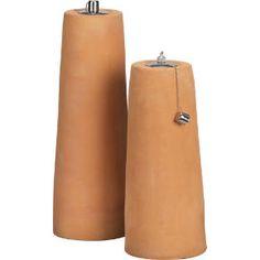 Terracotta oil lamps