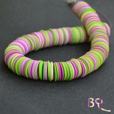 Necklace from Polymer Clay