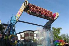 Kieputin on Linnanmäki amusement park Helsinki Finland. Fair Rides, Hershey Park, Amusement Park Rides, Carnival Rides, Adventure Awaits, Best Vacations, Helsinki, Finland, Night Life