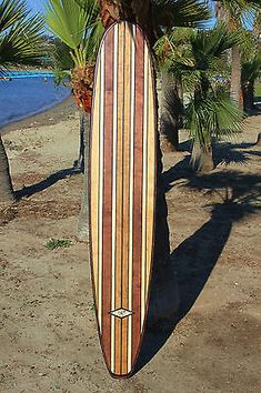 It is made from NICE Birch Veneered ply laminate wood. This is simply a NICE piece of surf art that you can hang anywhere. No rocker. It is all one piece of wood. Boards are sprayed with floor grade water based polyurethane. Wooden Surfboard, Surfboard Art, Skateboard Art, Surfboard Storage, Tiki Decor, Surf Decor, Wall Decor, Style Surfer, Wave Art