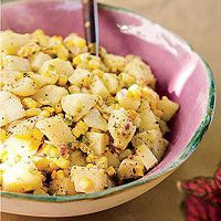 Grilled Corn-and-Red Potato Salad