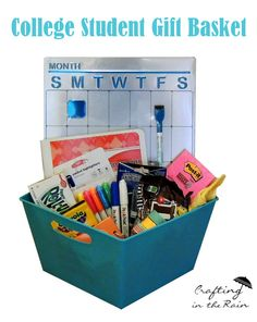 Craftaholics Anonymous® | College Student Gift Basket