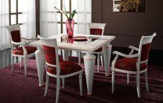 Tavolo in rovere Art.SA 702 http://www.sedieetavoli.net/arredamento-classico/tavoli-classici/  #tavolo #arredamento #classico #tavoliclassici