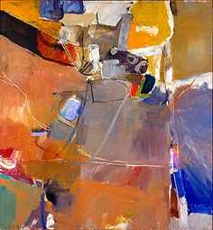 Richard Diebenkorn - There are odd pieces of Diebenkorn's work that make stop and look further. Hints of recognition and whispered voices - Glen