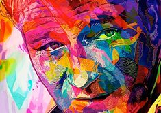 Abstract Colors – Portraits by Alessandro Pautasso