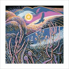 ✽ 'wayside winter' - annie soudain - downtoearthcards.co.uk