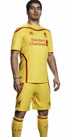 Liverpool 14-15 (2014-15) Trikots - Nur Fussball