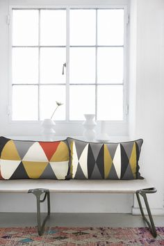 love these cushions from ferm living