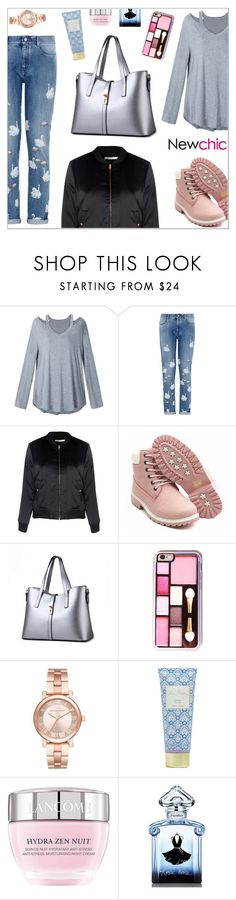 """NewChic Style124"" by nastenkakot ❤ liked on Polyvore featuring STELLA McCARTNEY, Glamorous, Michael Kors, Vera Bradley, Lancôme and Guerlain"