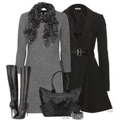 Off to work I go, created by michelled2711 on Polyvore