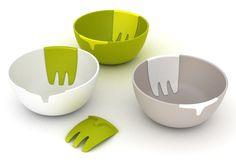 Joseph Joseph Salad Bowl & Server What great ideas they have.