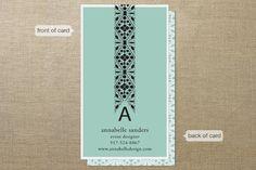 business card - designer