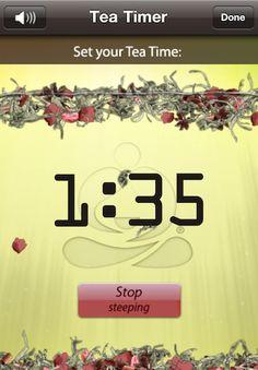 Teavana Perfect Tea Touch...Love this Teavana App! Have it on my iPhone!