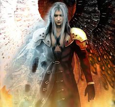 Sephiroth. This is the best thing ever OMG. It will be my wallpaper now