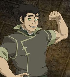 Bolin / Earthbender. Mako's younger brother tends to be more laidback and likes to have a good time. Despite their tough childhood, Bolin always has a smile on his face and a lady on his arm. In fact, it was Bolin who was responsible for introducing Mako to Korra. But Bolin is no clown. When the time comes to buckle down and bend some earth, this tough contender can handle his business.