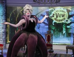 Pin for Later: The Ladies of The View Are KILLING It in Their Disney Villain Costumes Michelle Collins as Ursula