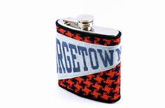 Georgetown Vintage Pennant and Tweed 6oz Hip Flask by Keelan Rogue, $38.00
