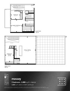 Why it rocks: spacious entry with window, 3 bedroom with decent sized master bedroom, huge terrace, windows on both sides of unit.
