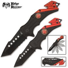 Ridge Runner Firefighter Survival Knive  Hmm looks familiar. Too bad Caleb lost his