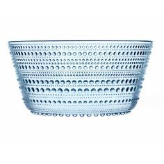 Kastehelmi Serving Bowl Blue, $52, now featured on Fab.